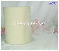 Personalized Wedding Favors tulle roll - Lovely Ivory Tulle Roll X100Yards Tutu Gift Wrap Bow Party Decorations