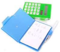 Wholesale new Business Notebook calculator pad pocket calculator solar energy calculator