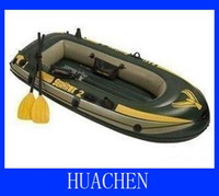 Wholesale INTEX Inflatable Kayak Canoe Seahawk Fish Boat for person