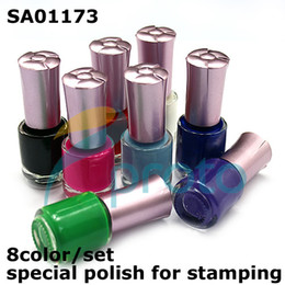 Wholesale DIY nail stamping printing pigment Special Nail polish Paint For Nail Stamping nail art Dropshipping Retail SKU C3007