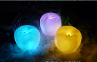 Wholesale Apple LED electronic colours Night light Easter decoration light wedding Valentine s Day lamp