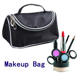 Wholesale 2012fashion Woman beauty bag Cosmetic Bag cosmetic bag handbag Black