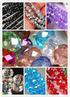 Wholesale 1000pcs Crystal Loose Beads x6mm Eight color Free Select