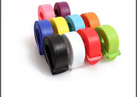 Wholesale Cheap Candy colored belt fluorescent plastic belt fashion W CM
