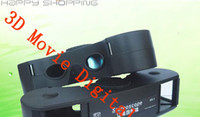 Passive Red/Green brand new Fashion Computer PC Stereoscope stereo vision 3D Movie Digital Glasses SS-1,free shipping