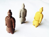 Wholesale Genuine gb Terracotta warriors USB Flash Drive Pen Drive by EXPRESS