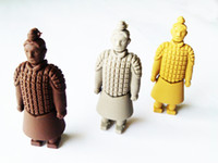 Wholesale Genuine gb gb gb Terracotta warriors USB Flash Memory Stick Pen Drive