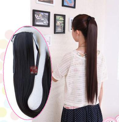 2017 70cm long clip in synthetic hair extensions high ponytail jk from yayawig dhgate com. Black Bedroom Furniture Sets. Home Design Ideas