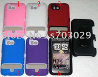 Plastic For HTC Guangdong China (Mainland) New! wholesale and retail Free shipping HTC 6400 case,plastic case with clip,cheap mobile phone cas