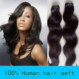 Wholesale Mix length pc14 quot pc16 quot pc18 quot brazilian Virgin Hair Extensions Weave Weft Body Wave B HWT008