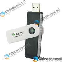 El más barato mini portátil USB 2.0 rotativo Purificadores de aire ionizador para el coche del ordenador portátil