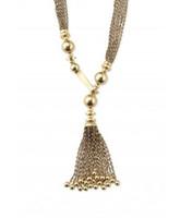 bianca jewelry - Fashion jewelry genuine Bianca Tassel Necklace