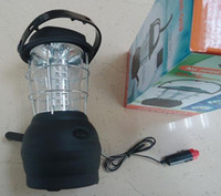 Wholesale Outdoor solar LED Hand Crank camping Portable Lantern Light