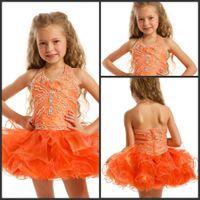 Halter dhgate girls - 30 Discount Off DHgate Mini Flowr Girl Dresses Cute Beaded Halter Girls Gowns For Weding