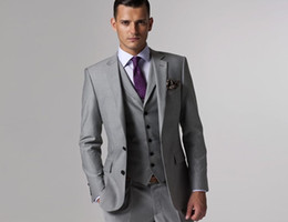 Wholesale New Style Men s Wedding Dress Bridegroom Prom Clothing Party Apparel suits Men Suit Custom Made