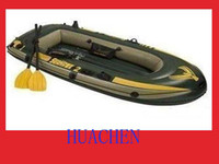 Wholesale 5514 high quatity sea kayak INTEX canoe people boat two liesure kayaking lovers ha