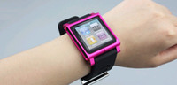 Wholesale 10pcs Nano For ipod Luna Strap Tik Watch Tiktok Lunatik Kits Band Wrist Silicon Aluminum
