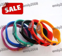 Other   Wholesale 100pcs lot Basketball Team Player Silicone Sports Energy Balance Bangle Bracelets