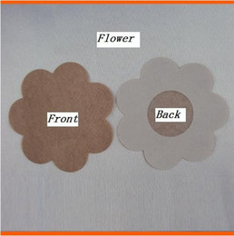DHL Free 2000Pcs Lady sexy Cubrepezon Nipple Cover Patch Breast Nipple Pad Petals Breast Nipple Pad Petals Sin bra Breast Nipple Pad Petals