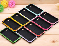 Wholesale Remark iface thin case in case with color bumper case cover for iPhone4S with packing