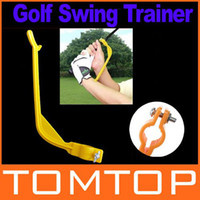Swing Trainer   Golf Practice Plane Swing Guide Trainer Gesture Alignment Training Wrist Correct Aid Tool H8250