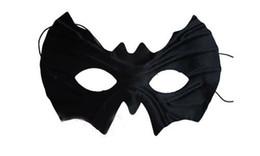Black Half Faces Batman Mask Eye Mask Mardi Gras Masquerade Halloween Costume Party MASKS Free Shipping