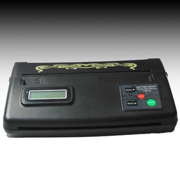 Wholesale Tattoo Transfer Machine thermal Copier Stencil Machine free gift Spirit Transfer Paper ZY007_2 WS011 arrive days