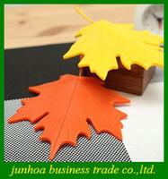 Safety Gates abs securities - Autumn Door Stopper Maple Leaf Shape ABS Folder Carmen Wind Security Card Doorstop