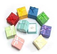 Wholesale Free EMS cm Fashion Earring Ring Jewelry Lover Christmas Gift Wedding Favor Gift Box