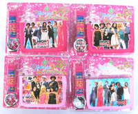 Wholesale pc High School Musical Watches and Wallet Sets With Gift Box Party Gift