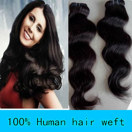 Wholesale Mix size Factory Price pc14 quot pc16 quot pc18 quot Brazilian Virgin Remy Hair Weft Hair Weave g HWT002