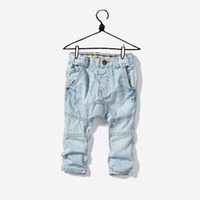 Wholesale 2012 new children s washing to do the old hanging file pants