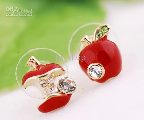 Apple Jewelry Jewelry Diamond Apple Red