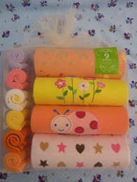 Wholesale 10 Piece Newborn Baby layette Sets Gift Bodysuits Towels Washcloth CCarter Overalls washcloths Set