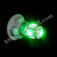 Wholesale 200 W5W T10 SMD LED T10 SMD chips LED Wedge Dashboard Side Lights T10 Bulbs