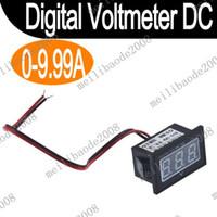Wholesale 10pcs K13 New Blue LED Digital Ammeter AMP Mini Current Panel Meter DC A