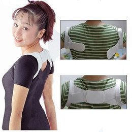 Wholesale 100 Posture Corrector Beauty Body Back Support Shoulder Brace Band Belt Correction