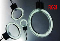 Wholesale Macro LED Video Ring flash Lights Camera lamp Fluorescent lamp ring light shadowless lamp FLC