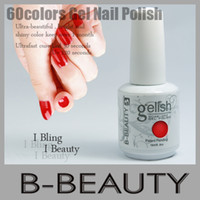 Wholesale Best Gel Nails Gelish Uv Led light Soak Off Color Gel Free Base Gel Free Top Coat