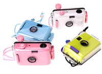 Wholesale 5pcs Underwater Camera LOMO camera Diving camera Waterproof mm Camera colors