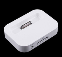 Wholesale Black and white Dock Cradle Charger Station Holder for iphone g