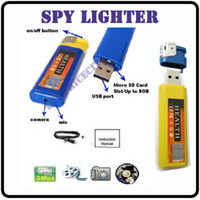 Wholesale New arrive Hidden mini dvr Spy lighter camera by use Video Camcorder fps Fast shipping