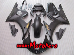 Black ABS Fairings kit for yamaha YZF-R6 2003 2004 2005 YZF R6 03 04 05 yzf600 YZFR6 03-05 fairing kit ABS + free gift