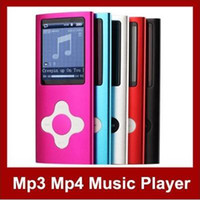 Pink Thin E-Book Reading MP3 MP4 Player 1.8 inch Screen Slim 16GB FM Radio Ebook free shipping MP18