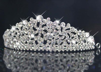 Crown Rhinestone/Crystal  Highly recommended Cheap Shining Rhinestones Tair&hair accessories for Wedding