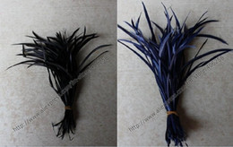 Wholesale 200pcs Free shopping Hair Extension Acc Dyed Single cm Goose Biots Loose Feather