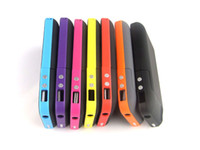 For Apple iPhone batteries station - Rechargeable Power Station Backup External Battery Case mAh Capacity Colors