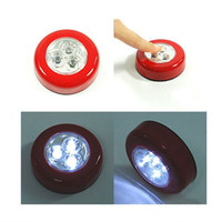 Wholesale LED Stick Tap Touch Light Lamp Battery Powered Red