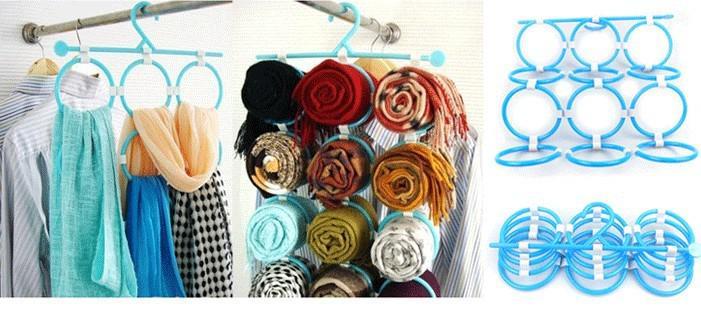Вешалки для шарфов и платков своими руками 60