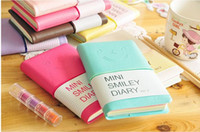 Wholesale Cute Lovely smiley Diary book Notepad Note pad Memo Paper notebook note book